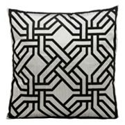 Kathy Ireland Modern Chain Throw Pillow