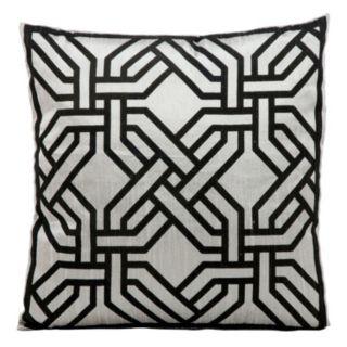 Kathy Ireland Modern Chain Throw Pillow