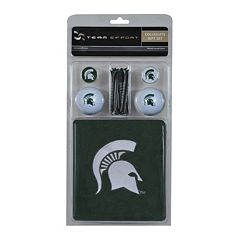 Team Effort Michigan State Spartans Golf Gift Set
