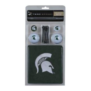 Team Effort Michigan State Spartans Golf Gift Set