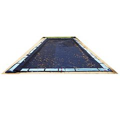 Blue Wave Leaf Net In-Ground Winter Pool Cover for 12-ft. x 24-ft. Pool