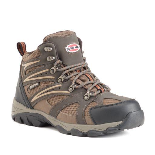 Iron Age Surveyor Men's Waterproof Steel-Toe Hiking Boots
