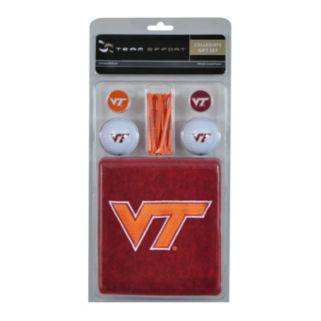 Team Effort Virginia Tech Hokies Golf Gift Set