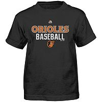 Boys 4-7 Majestic Baltimore Orioles Around the Bases Tee