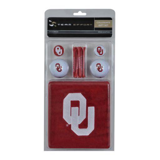 Team Effort Oklahoma Sooners Golf Gift Set
