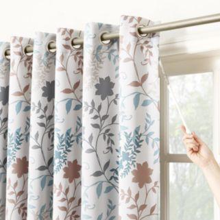 Sun Zero Asbury Patio Door Curtain - 100'' x 84''
