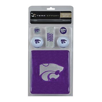 Team Effort Kansas State Wildcats Golf Gift Set