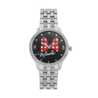 """Disney's """"Minnie"""" Women's Crystal Watch"""