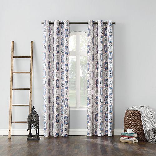 Sun Zero Carlo Thermal Lined Window Curtain