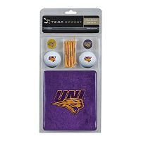 Team Effort Northern Iowa Panthers Golf Gift Set