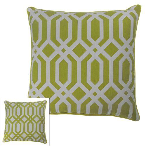 M. Kennedy Home Metro Geometric Throw Pillow