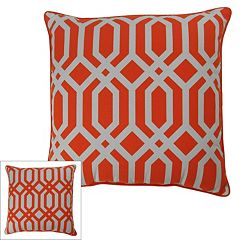 M. Kennedy Home Metro Geometric Throw Pillow