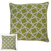 M. Kennedy Home Crystal Geometric Throw Pillow