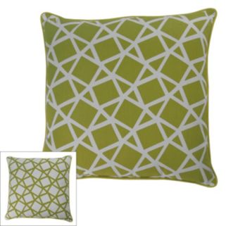 M. Kennedy Home Crystal Geometric Throw Pillow