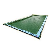 Blue Wave Silver-Grade Rectangular In-Ground Winter Pool Cover for 12-ft. x 20-ft. Pool