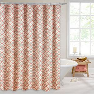 Colordrift Inner Circle Shower Curtain