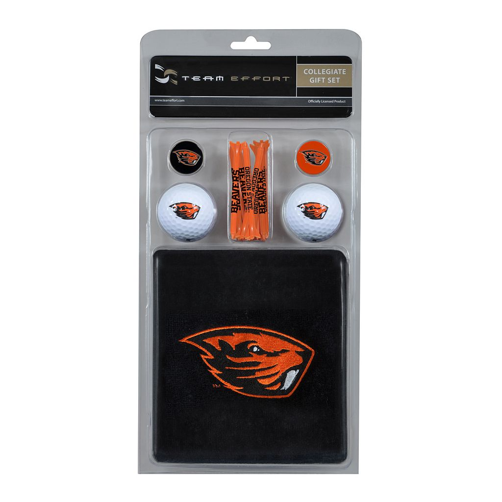 Team Effort Oregon State Beavers Golf Gift Set