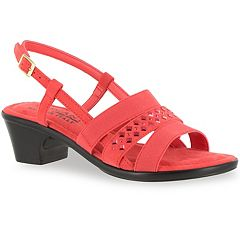 Tuscany by Easy Street Bruizo Women's Chunky Heel Sandals