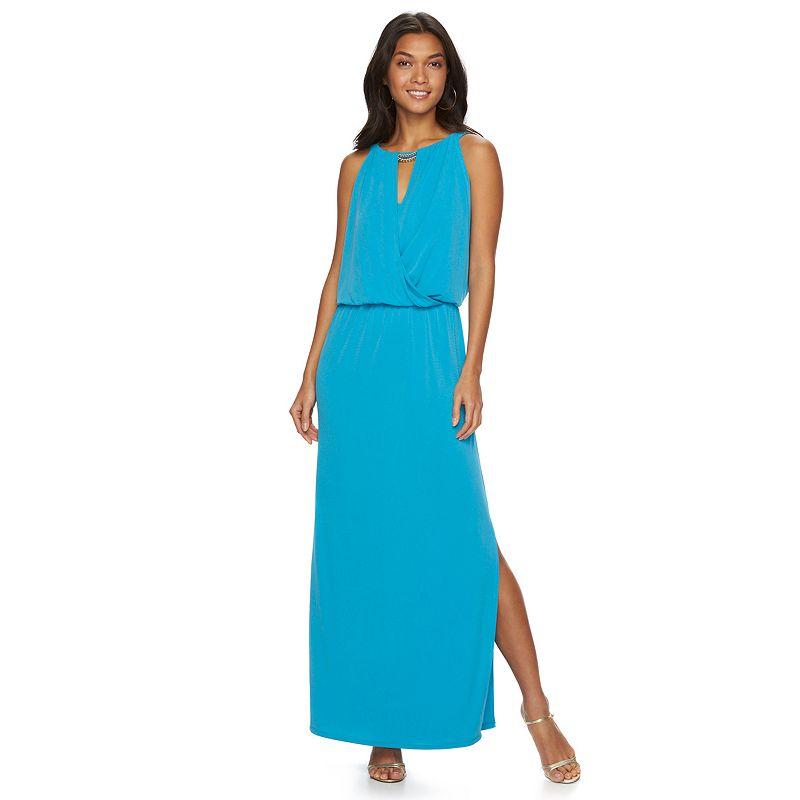 Women's Chaps Embellished Maxi Dress