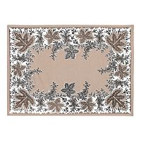 KAF HOME Botanique Holiday 4 pc Placemat Set