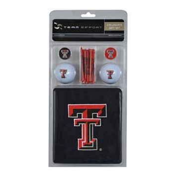 Team Effort Texas Tech Red Raiders Golf Gift Set