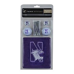 Team Effort Northwestern Wildcats Golf Gift Set