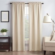 eclipse Thermaback Blackout 1-Panel Canova Window Curtain