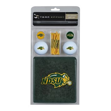 Team Effort North Dakota State Bison Golf Gift Set