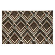 Mohawk® Home Augusta Browning Avenue Geometric Shag Rug