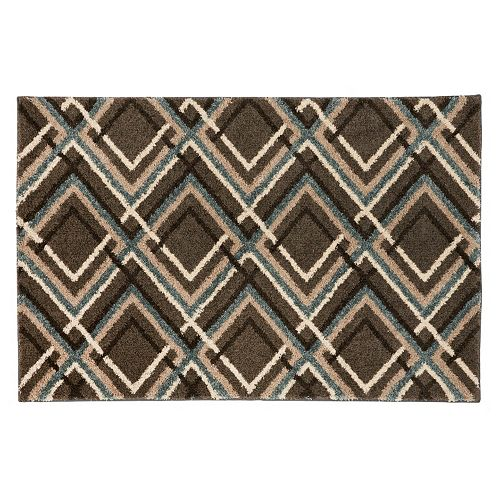Mohawk® Home Augusta Browning Avenue Geometric Shag Rug