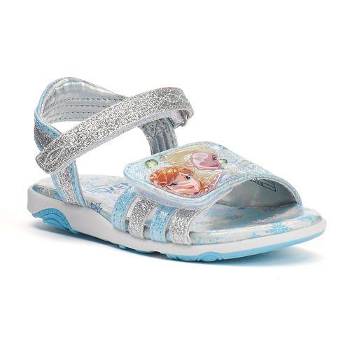 885301d7b87 Disney s Frozen Anna   Elsa Toddler Girls  Light-Up Sandals