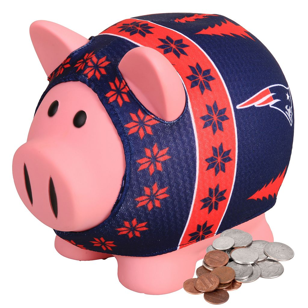 New England Patriots Sweater Piggy Bank