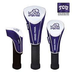 Team Effort TCU Horned Frogs Headcover Set