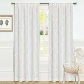 Laura Ashley 2-pack Lifestyles Windsor Window Curtains