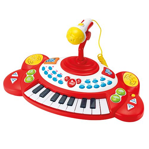 Superstar Electronic Keyboard & Microphone by Winfun
