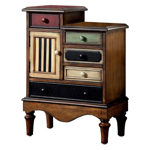Venetian Worldwide Neche Multi-Colored Accent Cabinet