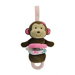 Carter's Monkey Plush Activity Toy