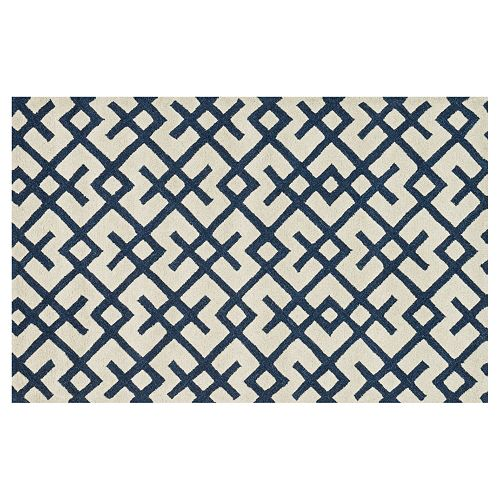 Loloi Weston Crisscross Pattern Wool Rug