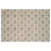 Loloi Weston Block Lattice Wool Rug