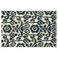 Loloi Taylor Floral Ikat Pattern Wool Rug
