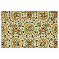 Loloi Taylor Repeat Abstract Floral Wool Rug