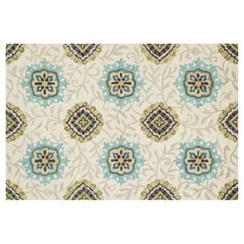 Loloi Taylor Arabesque Ivy Floral Wool Rug