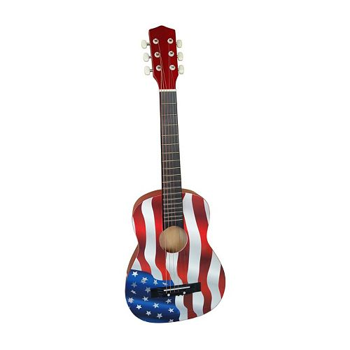 american flag acoustic guitar by ready ace. Black Bedroom Furniture Sets. Home Design Ideas