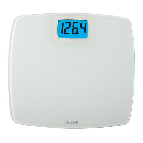 Taylor Deluxe Digital White Bath Scale