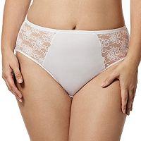 Elila Lace Microfiber Panty 3503