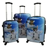Chariot Dream 3-Piece Hardside Spinner Luggage Set