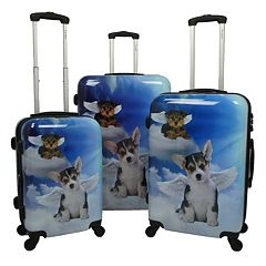 Chariot Dream 3 pc Hardside Spinner Luggage Set