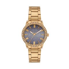 Citizen Women's Crystal Stainless Steel Watch