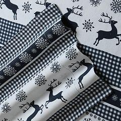 Printed Deep Pocket Flannel Sheet Set