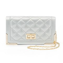 Lenore by La Regale Quilted Crossbody Bag